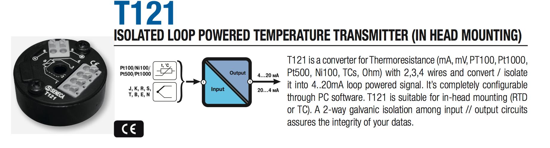 Bộ chuyển đổi tín hiệu nhiệt độ Pt100