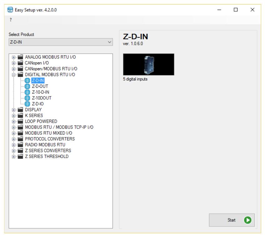 Cách cài đặt bằng phần mềm bộ chuyển đổi modbus R-D-IN