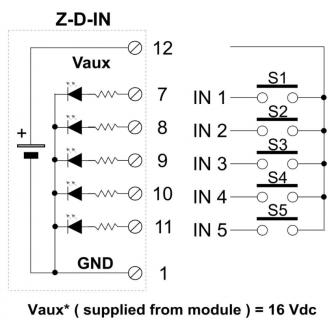 Hướng dẫn kết nối bộ chuyển đổi modbus Z-D-IN