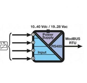 Bộ chuyển đổi tín hiệu Modbus Z-4RTD2