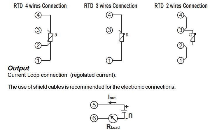 Cách đấu dây bộ chuyển đổi tín hiệu T120