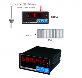 Bộ hiển thị tín hiệu có relay S311A-4-L