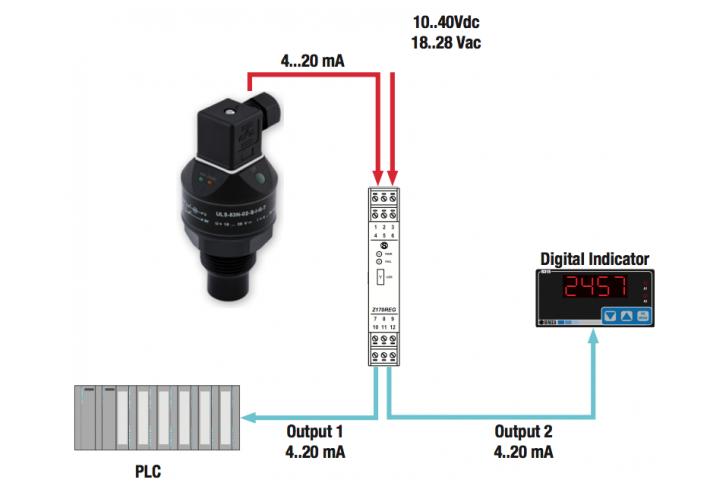 Ứng dụng cảm biến siêu âm đo mức chất lỏng
