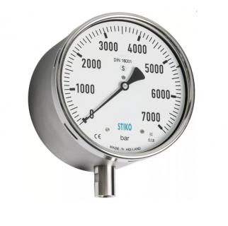 Đồng hồ áp suất đường kính mặt 100mm