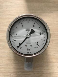 Đồng hồ áp suất có dầu của Stiko