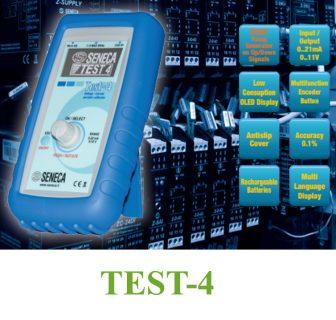 Bộ phát dòng analog TEST-4 của Seneca-Italy