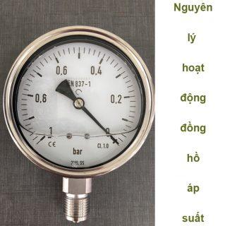 Nguyên lý hoạt động đồng hồ áp suất