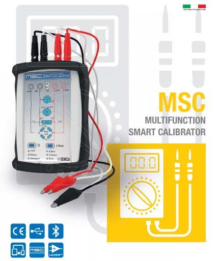 Bộ đo dòng đa năng Seneca MSC