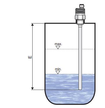 Cảm biến đo 2 mức chất lỏng