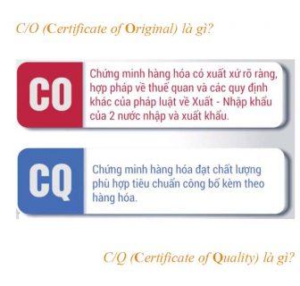 (Bạn có biết)CO là gì? CQ là gì? CoC là gì?