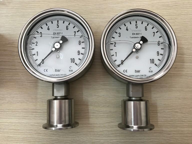 Đồng hồ đo áp suất màng của Stiko