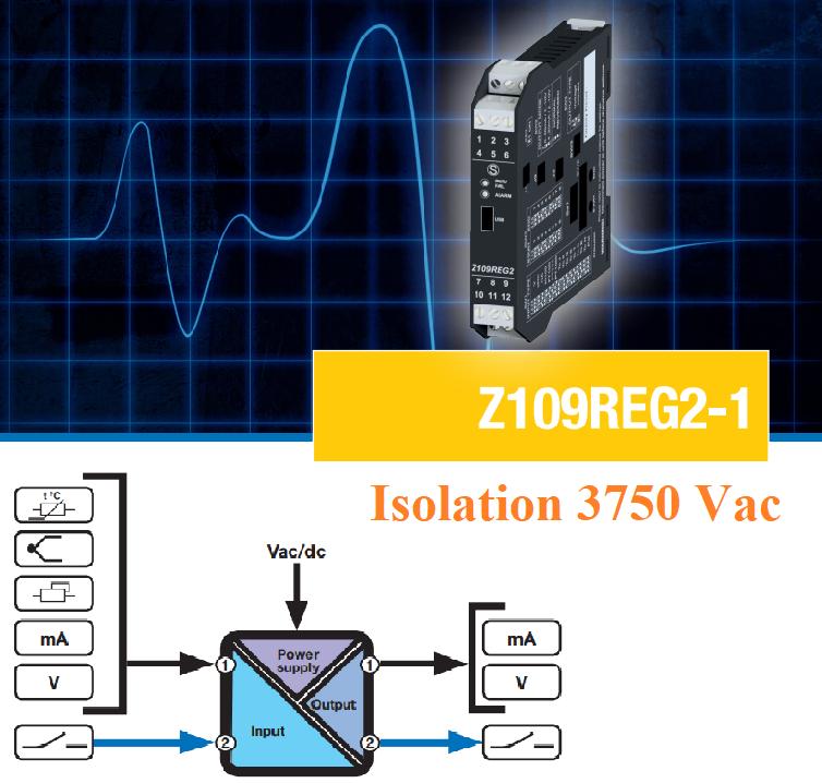Bộ chỉnh tín hiệu 4-20mA Z109REG2-1