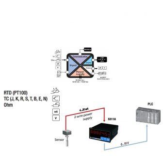 Bộ hiển thị tín hiệu nhiệt độ S311