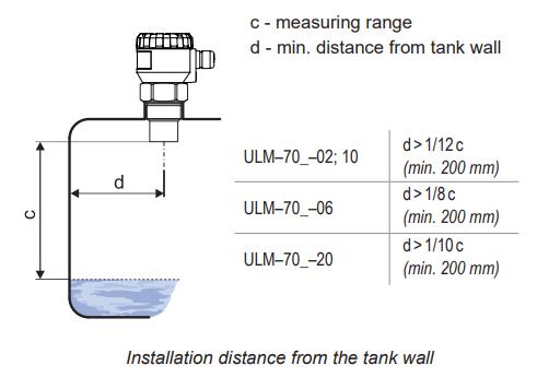 Lắp đặt cảm biến siêu âm đo mức nước