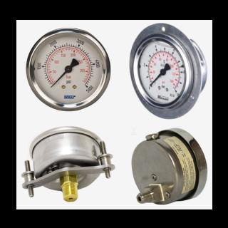 Đồng hồ áp suất chân sau của Stiko-Hà Lan