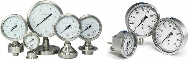 Đồng hồ áp suất Stiko-Hà Lan