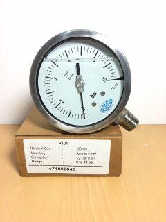 Đồng hồ áp suất chân đứng Georgin