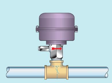 Cách lắp đặt công tắc dòng chảy