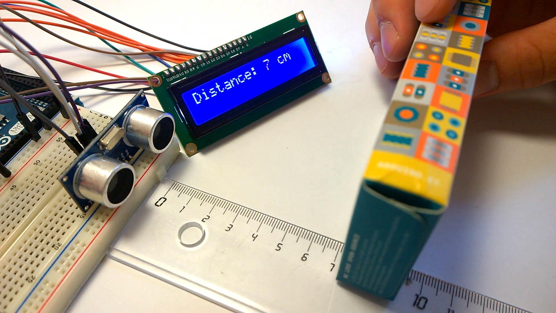 cảm biến siêu âm arduino