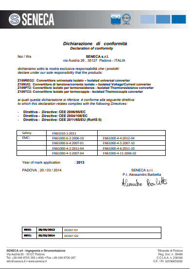 giấy chứng nhận hợp chuẩn CoC là gì