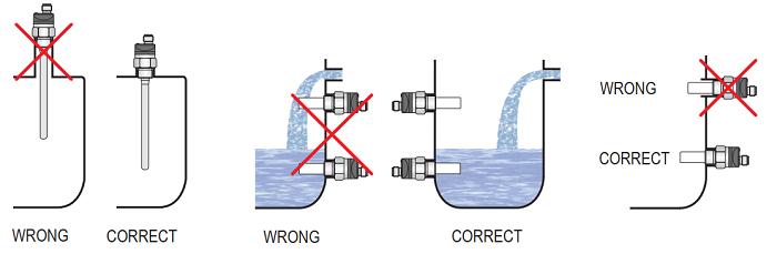 Lưu ý khi lắp đặt cảm biến báo mức xăng dầu