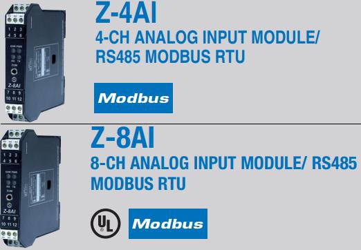 Bộ chuyển đổi analog sang ModBUS RTU