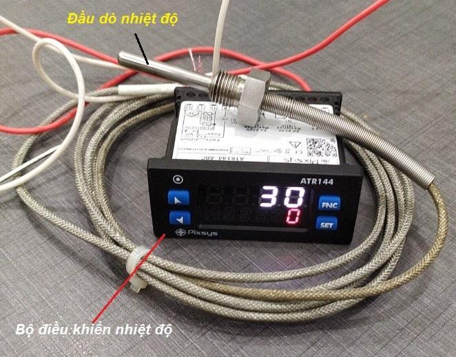 Bộ điều khiển nhiệt độ Pixsys ATR144