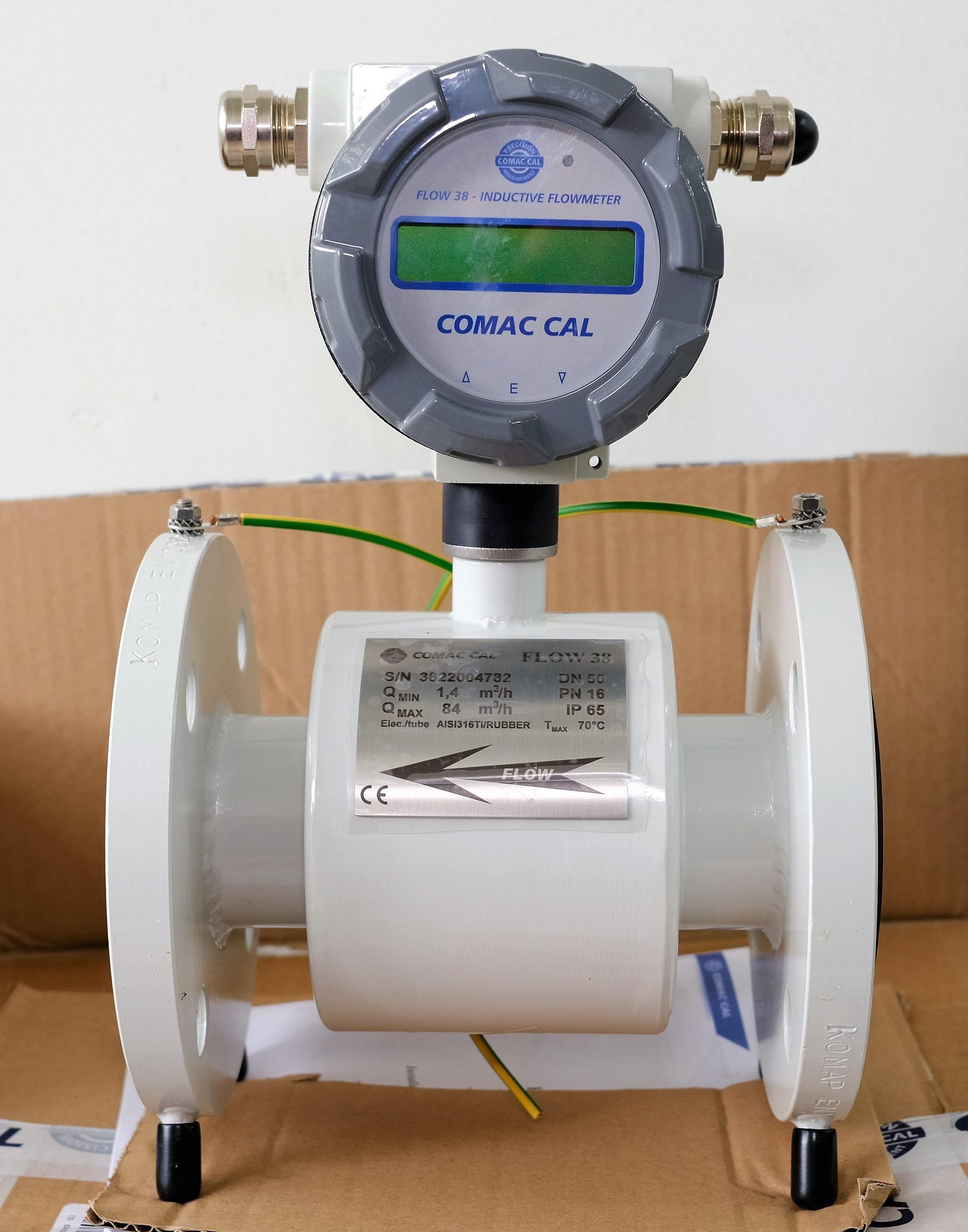 đồng hồ đo lưu lượng comac cal