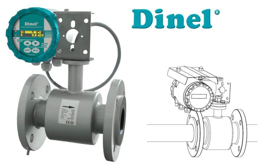Đồng hồ đo lưu lượng Dinel